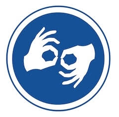 ASL accessibility icon
